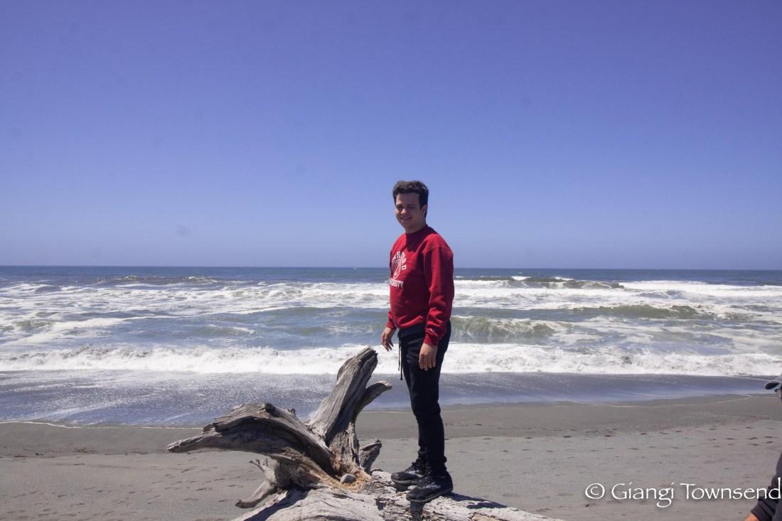 My love at the beach