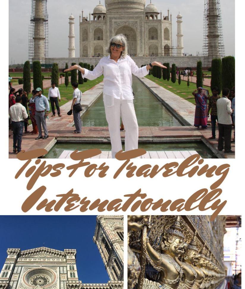 tips for traveling internationallhy