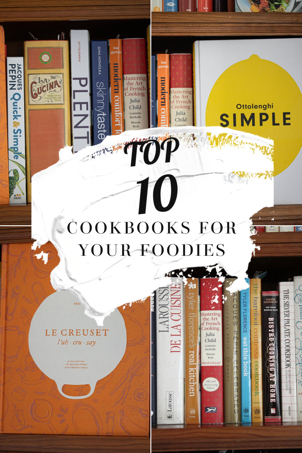 TOP 10 COOKBOOKS