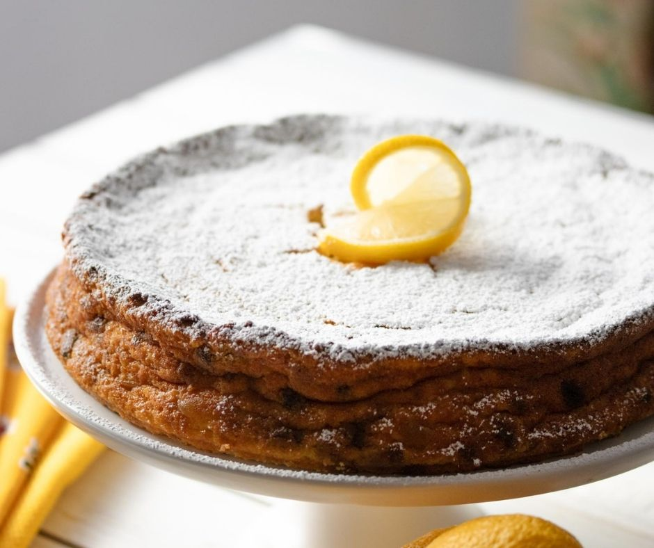Ricotta Lemon Cake
