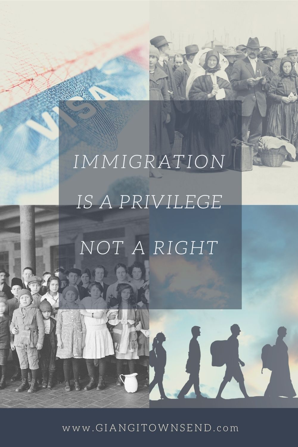 Immigration is a privilege, not a right.
