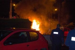 Car Fire Glasnevin-4458