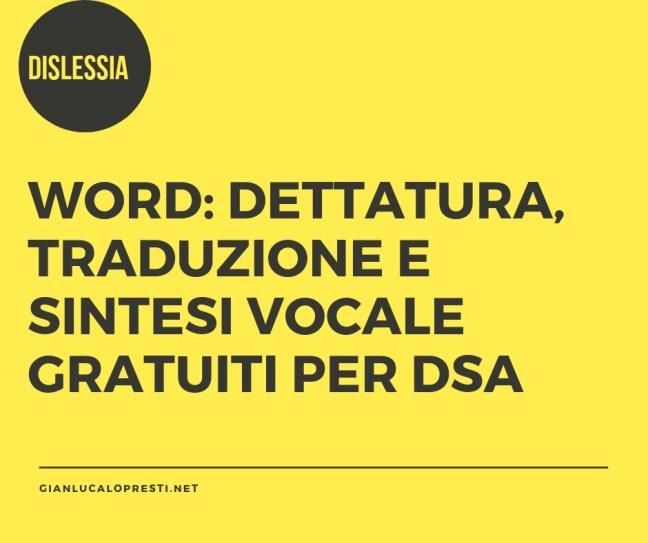 Disortografia Dr Gianluca Lo Presti