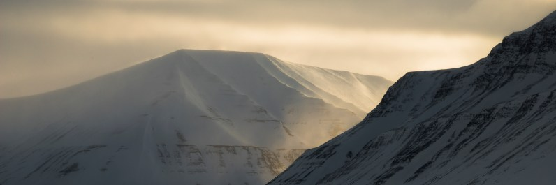 Alba su Spitzbergen
