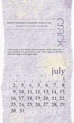 side effects calendar • crack [july]