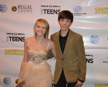 Gianna LePera and CJ Diehl-The Stream Premier