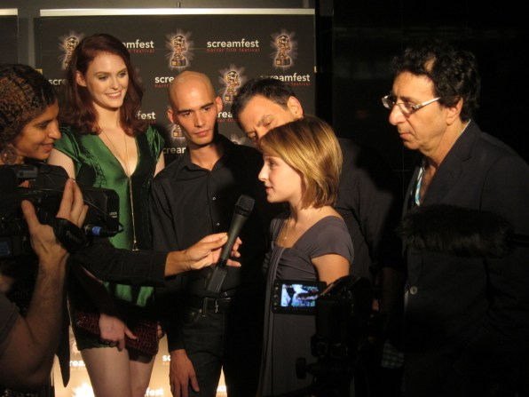 Vamperifica Cast @ Screamfest
