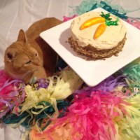 Carrot Cake with Macadamia Maple Frosting