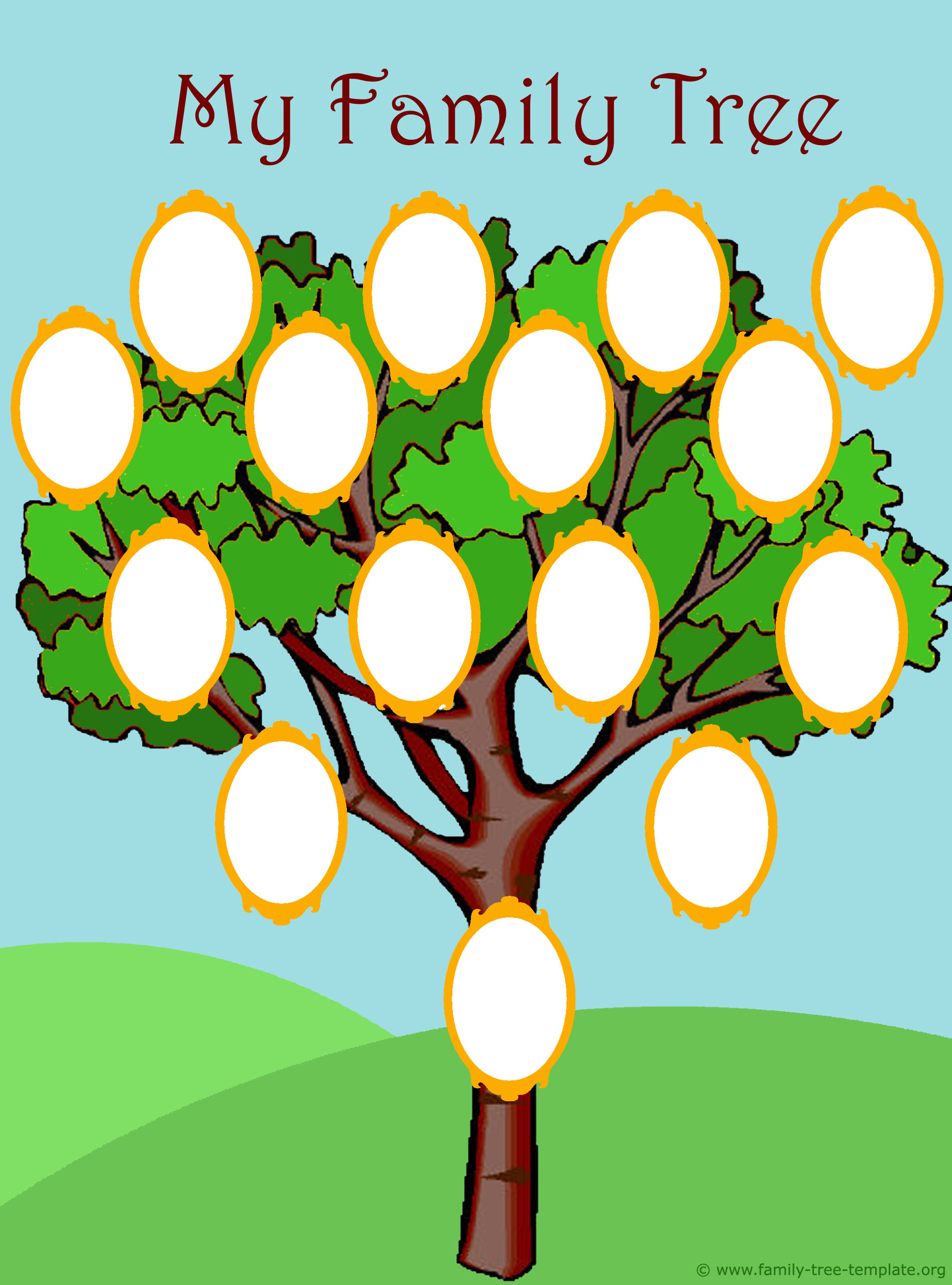 Family Tree Freebies Gianna The Great