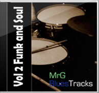 MrG Blues Backing Tracks Vol 2 – Funk and Soul