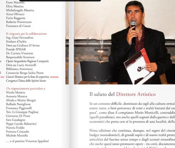Ischia Film Festival 2011 Ringraziamenti