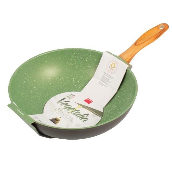 Итальянская сковорода вок Giannini для газовой, индукционной и электрической плиты оптом и в розницу, доставка по всей России!