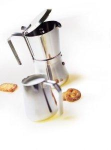 """Итальянские гейзерные кофеварки Giannini """"Giannina"""" для газовой, индукционной и электрической плиты оптом и в розницу, доставка по всей России!"""