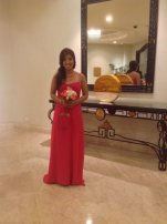 2014-10-11 Bridesmaid duties at my good friend Jodee's wedding