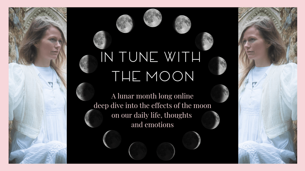 in tune with the moon