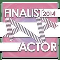 AVA 2014 Actor Finalist
