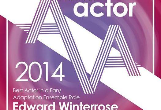 Edward Winterrose - 2014 Best Actor in a Fan Production