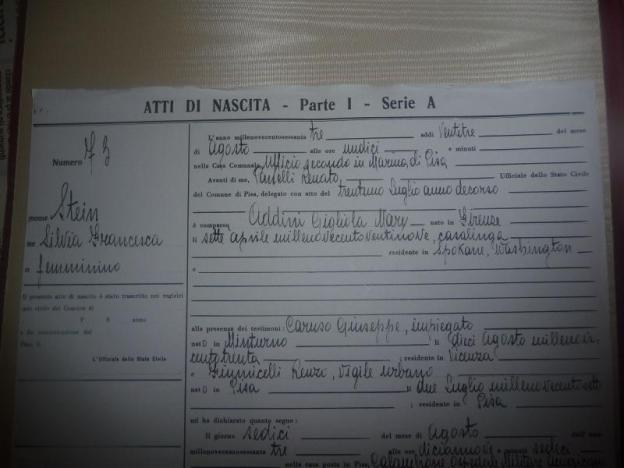 Giant Image Management Diary Of Silviamatrilineally Addini Based On Birth In Pisa Italy Jus