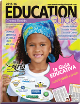 Map cover of The Education Guide of Central Florida – Spanish Edition
