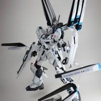 """""""Destroyer!"""" MG 1/100 Nu Gundam Ver.Ka"""