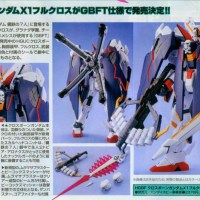 HGBF 1/144 Crossbone Gundam X1 Full Cloth GBF Ver.