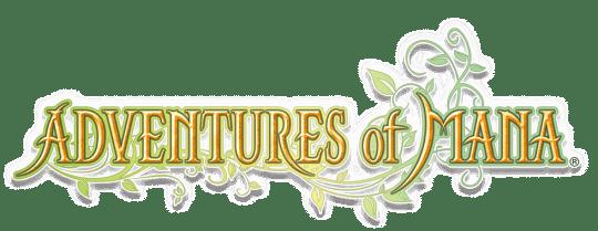 Adventures of Mana Title Logo