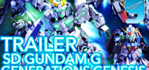 SD Gundam G Trailer