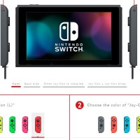 Nintendo Online Japanese Store selling Switch without Dock