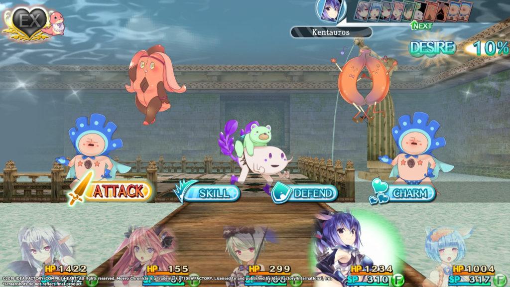 Moero Chronicle Hyper - Battle Screenshot 1
