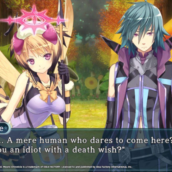 Moero Chronicle Hyper - Dialogue Screenshot 3