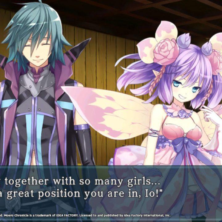 Moero Chronicle Hyper - Dialogue Screenshot 1