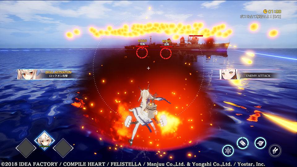 Azur Lane: Crosswave Battle