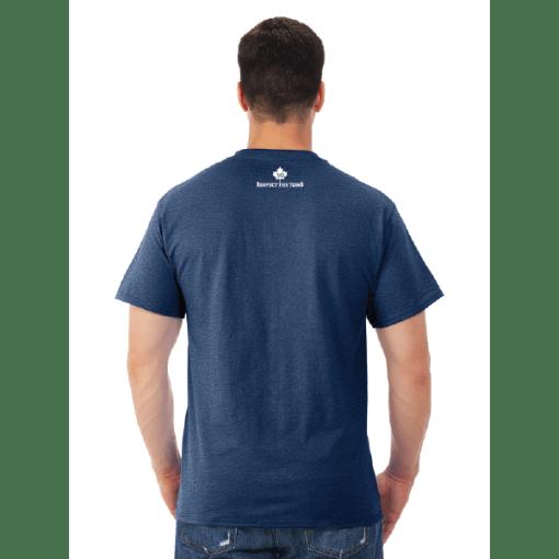 MEN'S T-SHIRT | GTTC DRI-POWER ACTIVE - Vintage Navy - Back