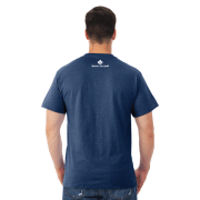 Giants Tomb Trading Co – Jerzee – Mens – T Shirt – Vintage Navy – Back