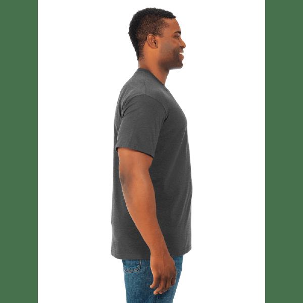 MEN'S T-SHIRT | GTTC HD COTTON - Black Heather - Side