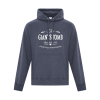 Hoodie | Unisex | Active Blend | Heather Navy | Logo: The G.T.T.C. - Front