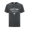 Men's T-Shirt | Active Blend | Dark Heather | Logo: Original GTTC - Front