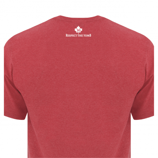 Men's T-Shirt | GTTC Active Blend | H_Red Back Close
