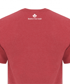 Men's T-Shirt | GTTC Active Blend | H_Red Back Close