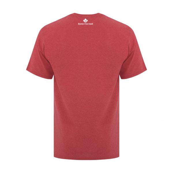 Men's T-Shirt | GTTC Active Blend | - H_Red Back