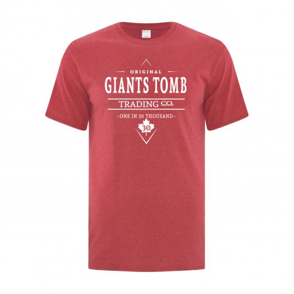 Men's T-Shirt | GTTC Active Blend | H_Red Front Original