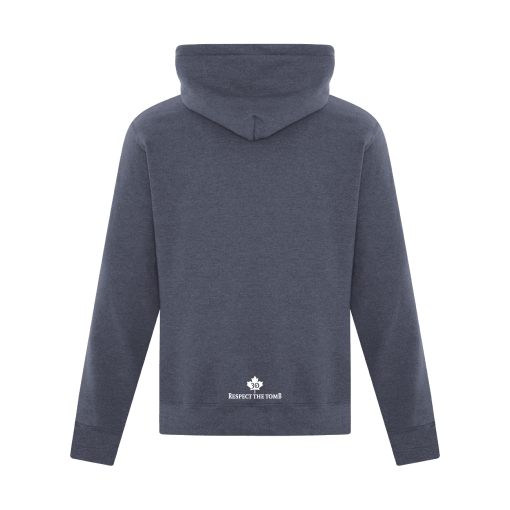 Hoodie Heather Navy Georgian Bay Destinations Back