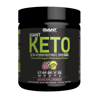 Exogenous Ketone Powder Giant Keto Raspberry