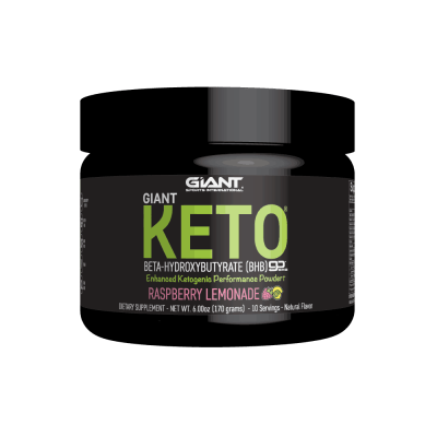 Exogenous Ketone Powder Giant Keto Raspberry Lemonade