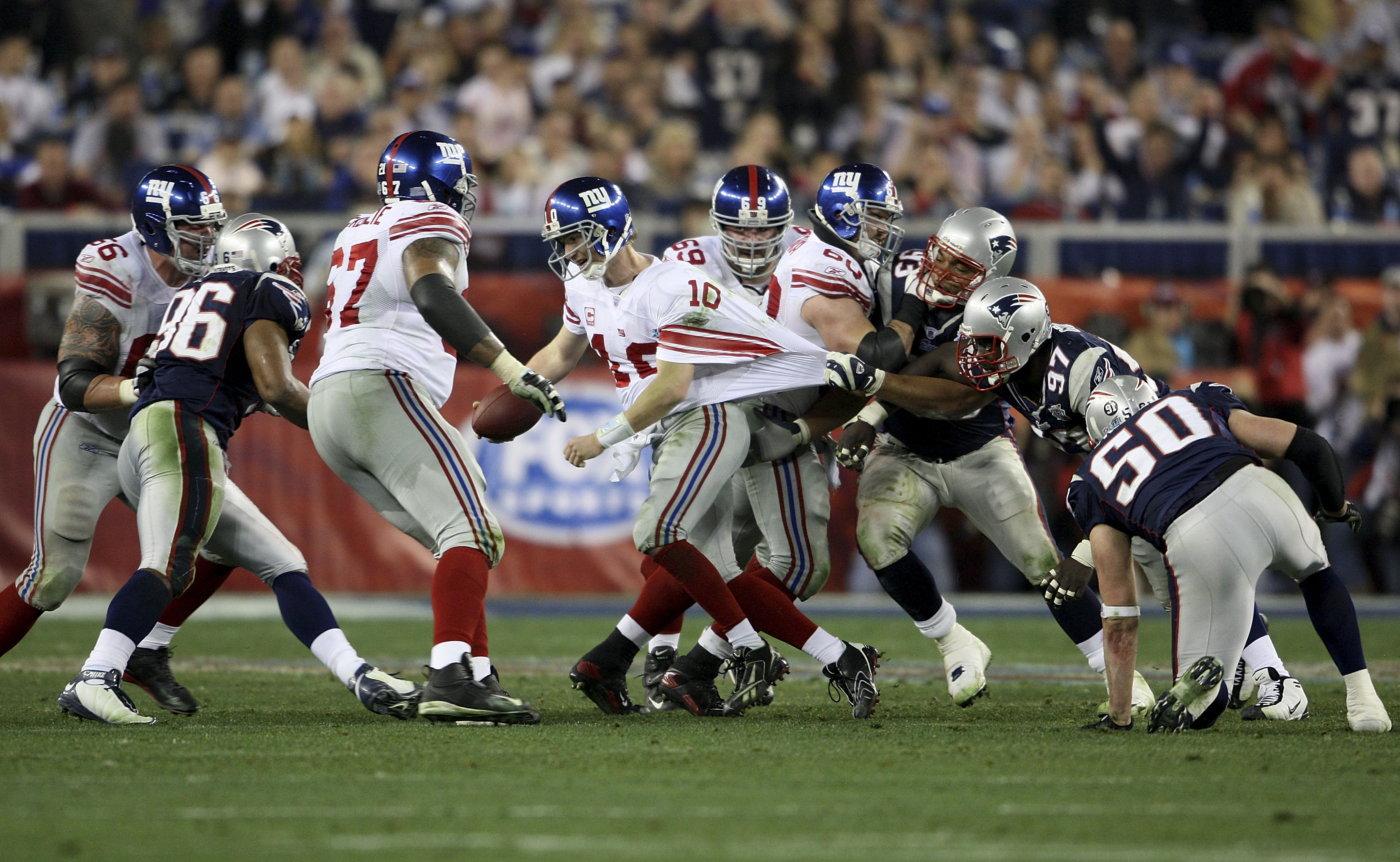 Richard Seymour says Giants won Super Bowl XLII because he was held