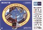 Pass giornaliero metro (Metropolitana di Tokyo)