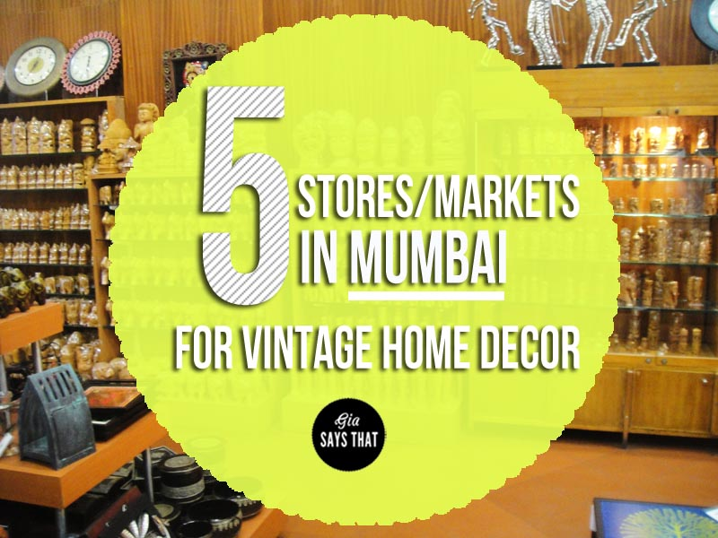 SHOPPING FOR HOME DECOR IN MUMBAI