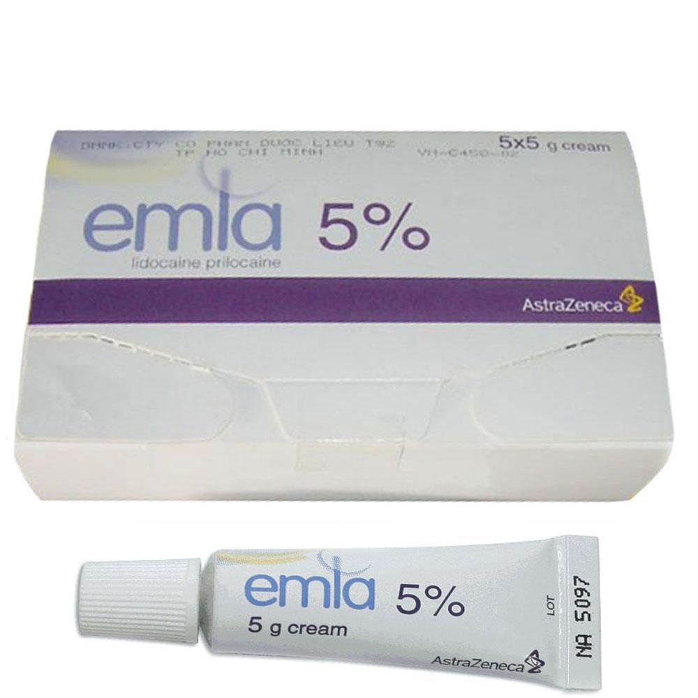 Kem bôi chống xuất tinh sớm Emla 5%