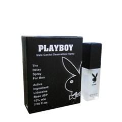 Thuốc xịt chống xuất tinh sớm Playboy đen