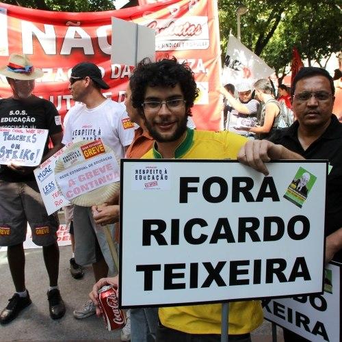 Fora Ricardo Teixeira!!!